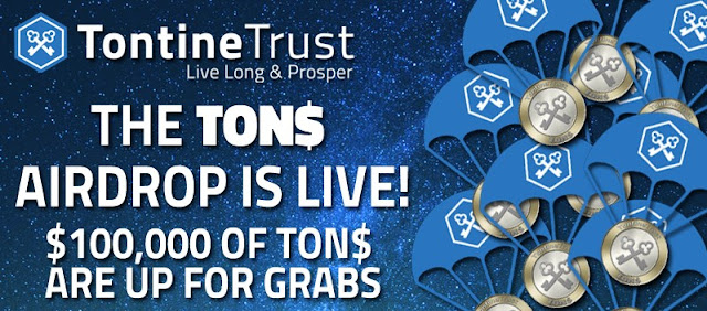 TontineTrust Airdrop Campaign is ON