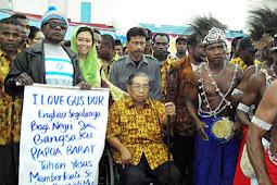 Penduduk Papua: Jangan Hina Gus Dur, Nanti Kamu Saya Kasih Mati