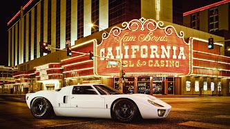 Wallpaper: Ford GT40 in Las Vegas