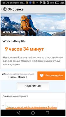 Huawei Honor 8 - Автономная работа