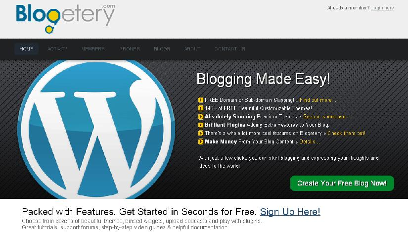 Free Wordpress Blog With Domain Mapping…! | Learn From Net - Best on