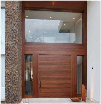 model pintu besar minimalis modern