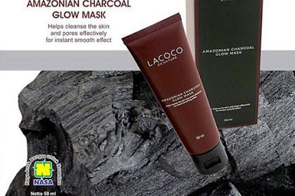 Lacoco Amazonian Charcoal Glow Mask Marker Alami NASA