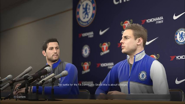 Chelsea Press Conference Room PES 2018