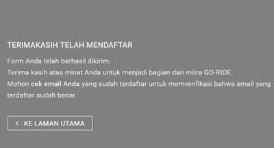 Daftar Mitra Gojek Online