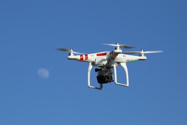 Penggunaan Drone Fotografi
