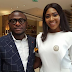 Ubi Franklin and estranged wife, Actress Lilian Esoro step out together (Photos)
