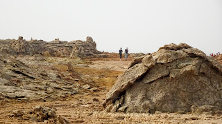Many tourists visit each year the Danakil Depression