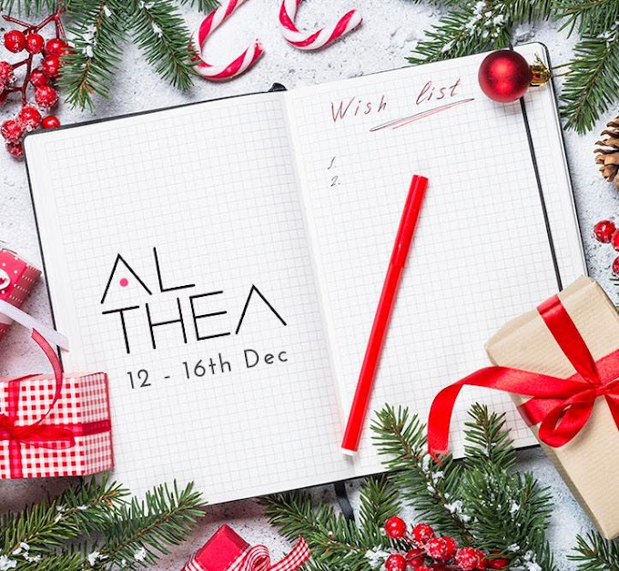 Top 10 products Althea Christmas Wish List