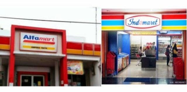 Alfamart dan Indomaret Buat Bangkrut Toko dan Penjual Emperan di Sulut