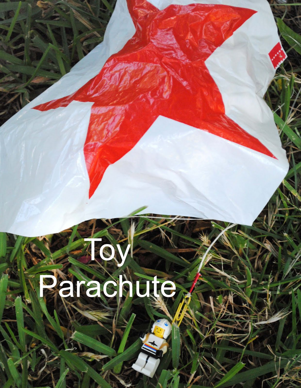Zakka life how to make a toy parachute for Four man rubber life craft