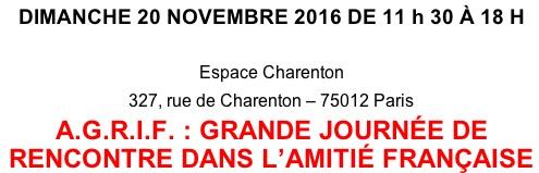 L 39 echo parisien salon des proscrits de radio courtoisie - Porte de charenton metro ...