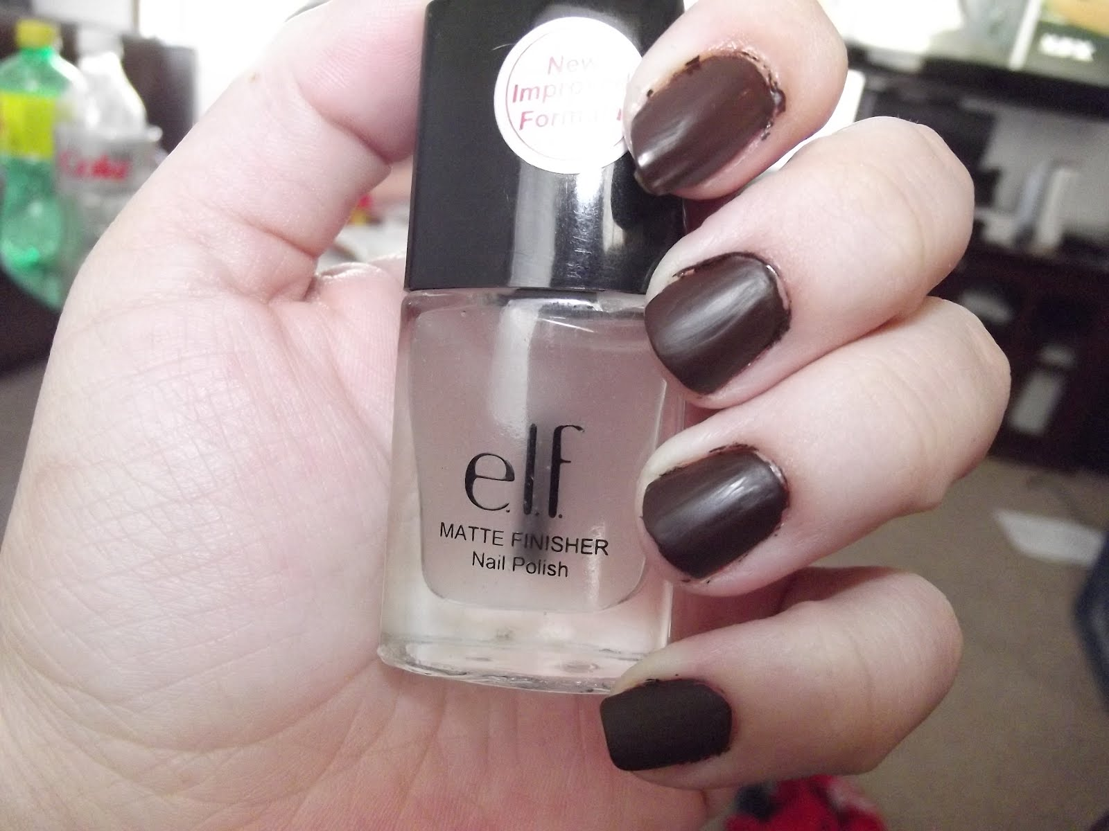 Jwhackers Elf Matte Finisher Clear Nail Polish Review
