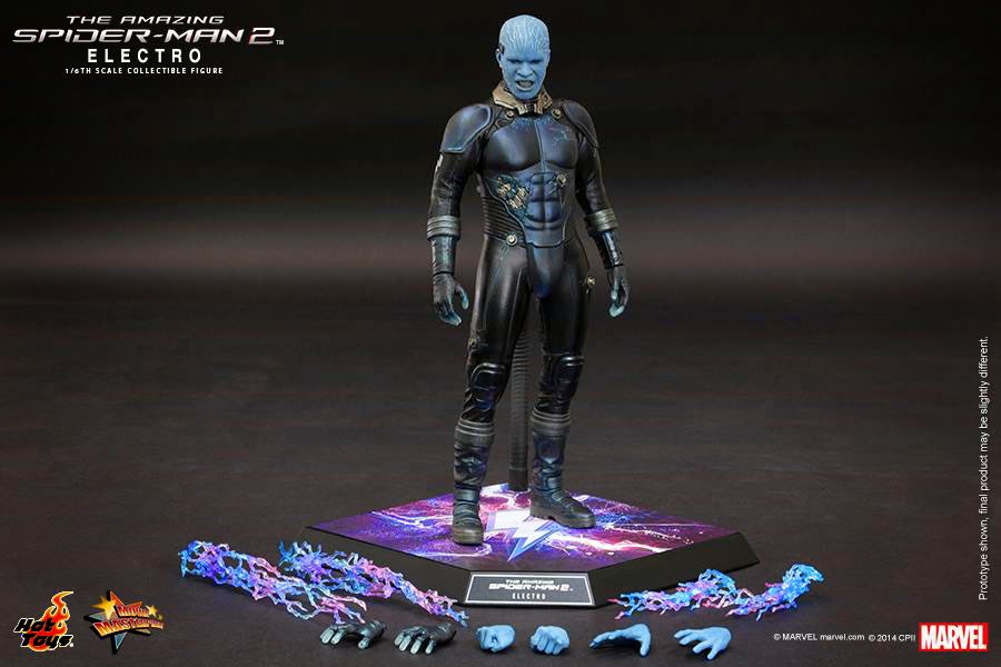 size 40 4ae9f 6e97c The Amazing Spider-Man 2  1 6 Electro from Hot Toys