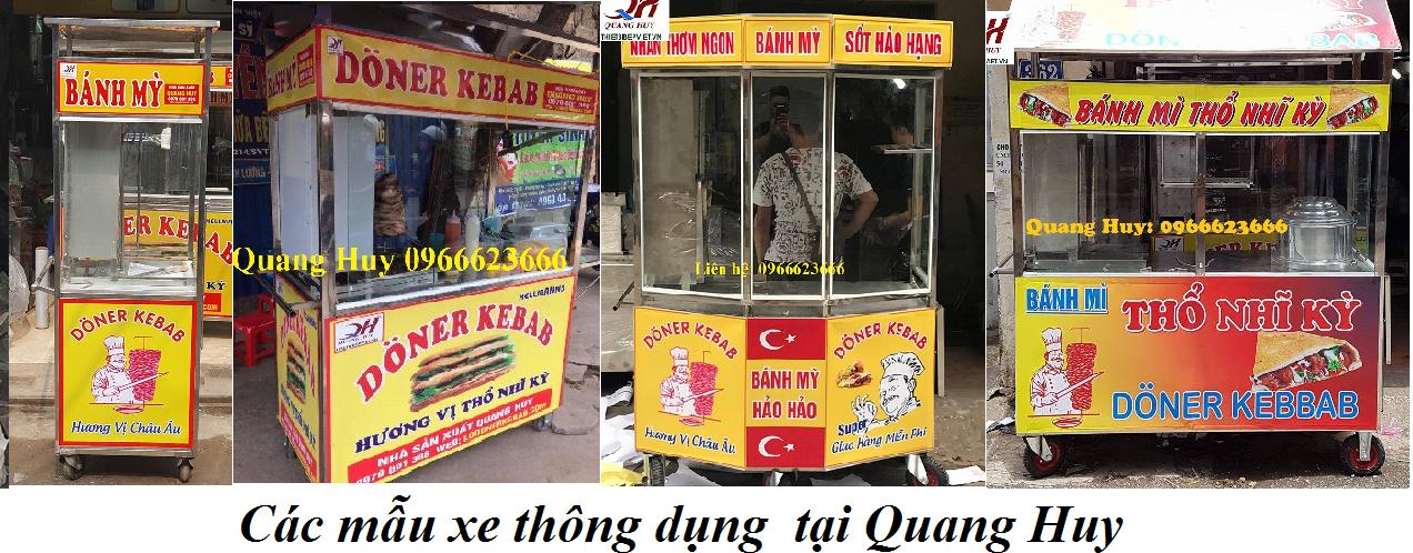 Kết quả hình ảnh cho xe bánh mì Quang Huy