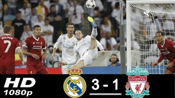 Highlights Chung kết Champions League 2018 Real Madrid và Liverpool 3-1