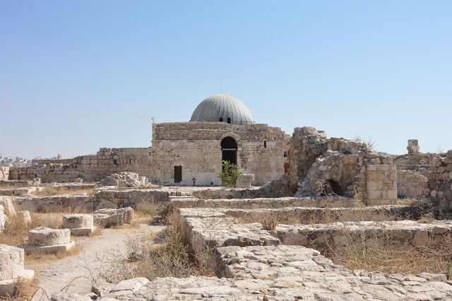 Palais des Omeyyades à Amman
