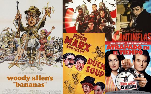 Películas Cómicas: Las favoritas de todos