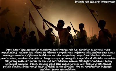Hari Pahlawan selalu kita peringati setiap tanggal  Ucapan, Sejarah, Makna Hari Pahlawan