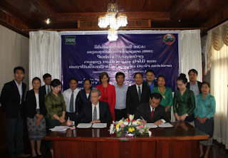 Laos and IRRI agreement May 8 2017