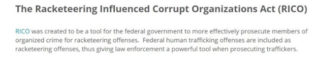 an introduction to racketeer influenced and corrupt organizations act rico This material provides a brief overview of what is the racketeer influenced and corrupt organization act or rico.