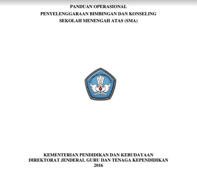 Panduan Guru BK SMA 2016 Dari Ditjen GTK Final Revisi PDF