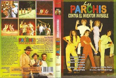 Los Parchis contra el inventor invisible. 1981.