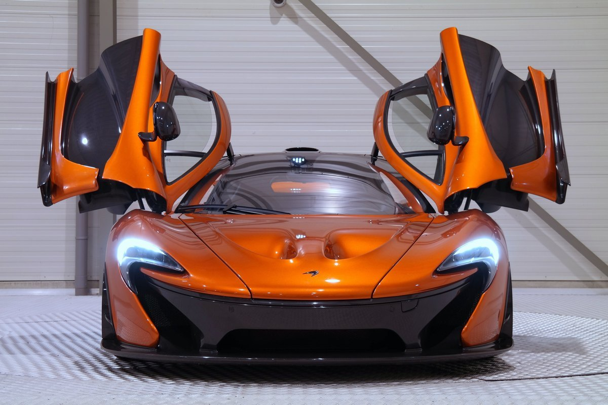 This Volcano Orange Mclaren P1 Is A 1 9 Million Bargain