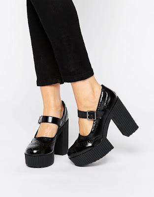 imagenes de Zapatos de Plataforma Mujer