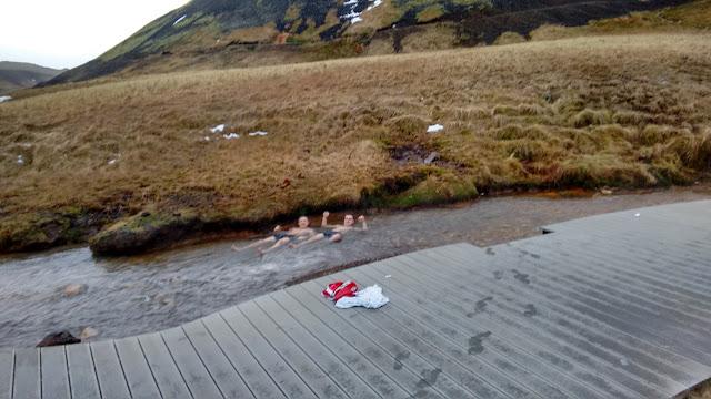 gorące źródła, Hveragerdi, Islandia