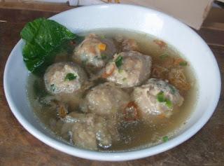 Makanan Khas Indonesia bakso - bakso sapi