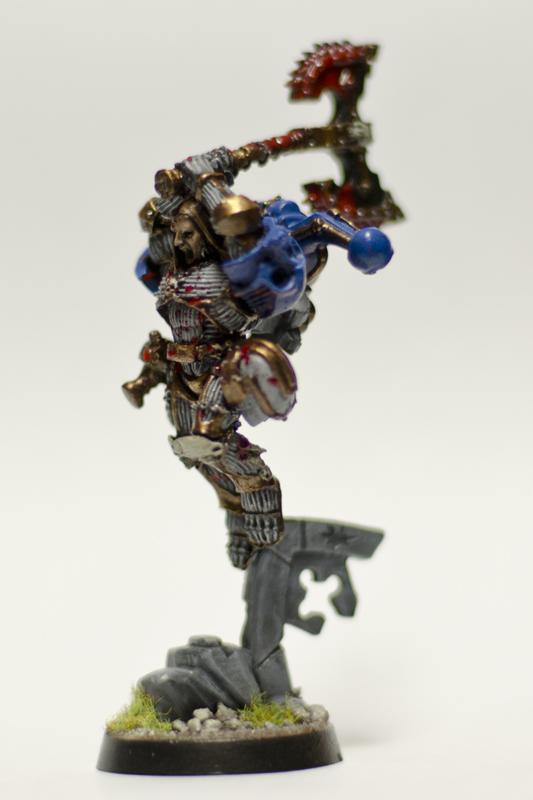 """Put to the Brush: My own """"Kharnversion"""""""