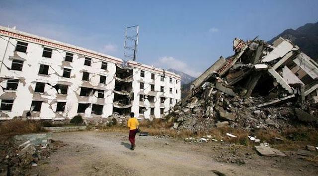 Gempa 6,5 SR Mematikan Mengguncang Sichuan China