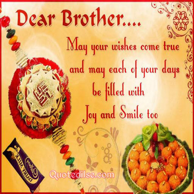raksha bandhan lines for brother