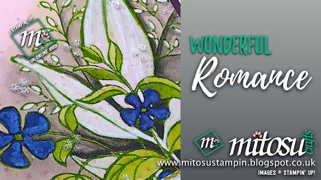 Wonderful Romance Stampin' Up! Card Idea. Order Cardmaking Products from Mitosu Crafts UK Online Shop 24/7