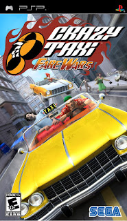 Crazy Taxi: Fare Wars PSP GAME
