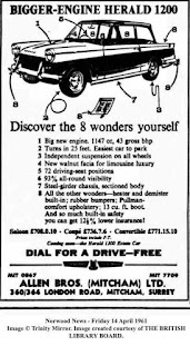 Allen Bros (Mitcham) Ltd advert 1961