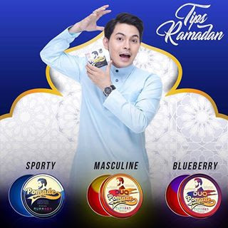 Auramen duo pomade masculine & blueberry 150gm