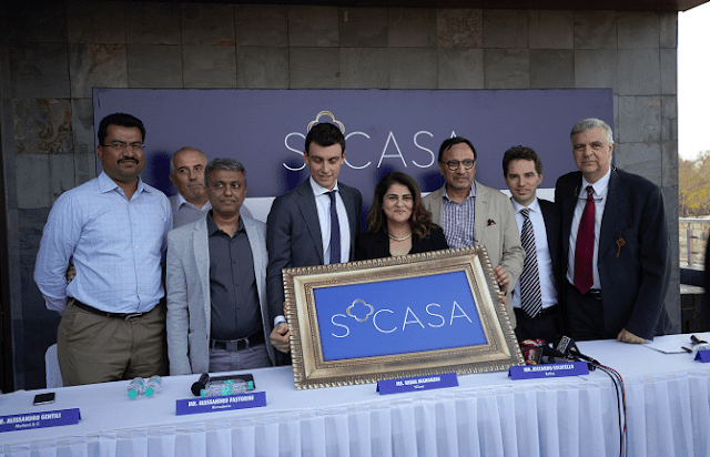 SCASA – Home to elite Italian furniture brands opens its first outlet in South India at Hyderabad