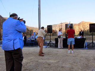 Fish Canyon access trail dedication June 18, 2014