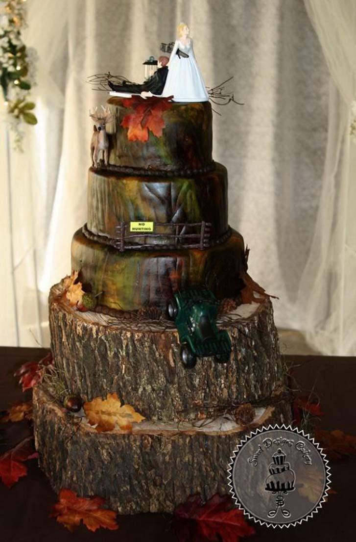 Camo Wedding Dresses Cheap 95 Awesome Camo Wedding Cakes picture