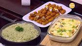 طريقة عمل أرز بالشبت و جراتان كفتة وبطاطس و بلح الشام مع أميرة شنب 27 -6-2016