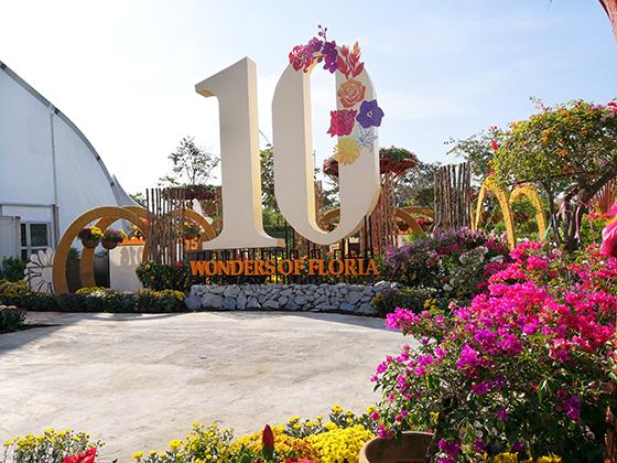 Biggest Malaysian Floral exhibition, Royal Floria Putrajaya 2018