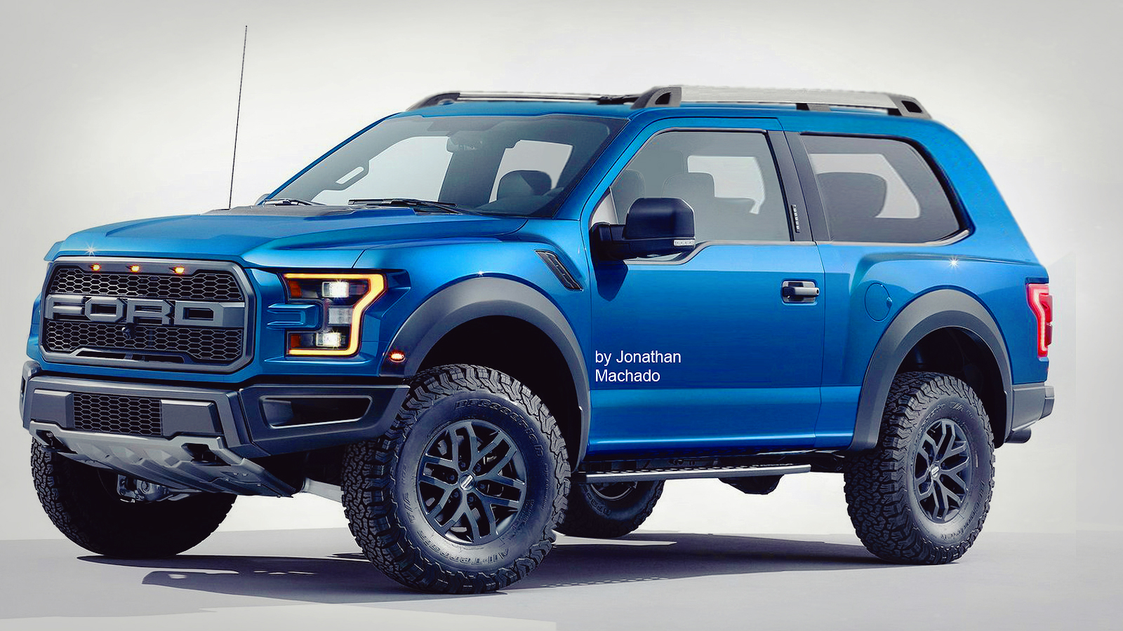 PHOTOSHOP New 2018 Ford Bronco Air Roof @ F-150 Removable ...