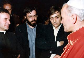 Andrea Riccardi, Vincenzo Paglia, Mario Marazziti, papa Giovanni Paolo II