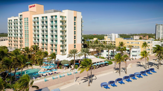 Experience the comfort and style of Marriott Hollywood Beach; a hotel located along the famous boardwalk of Hollywood Beach, FL.