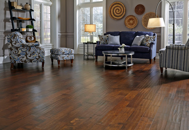 Lodge or Utility-Grade Wood Flooring ! Home Decor