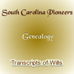 South Carolina Wills