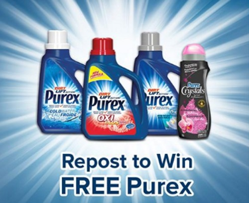 Purex Free Bottle Repost To Win Contest