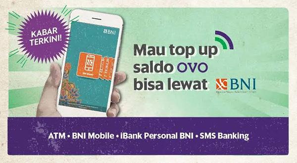 Biaya Admin TopUp OVO dan DANA di BNI Mobile Banking